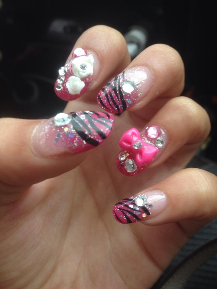 The Best Nail Designs I Have Ever Had Little Girl Big City